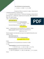 Ecuaciones Generales Del Helicoide
