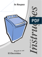 Manual lavadora Electrolux LTC12