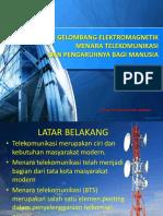 Radiasi Gelombang Elektromagnetik Dan Pengaruhnya