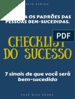 Checklist Do Sucesso