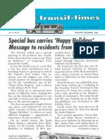 Transit Times Volume 9, Number 8