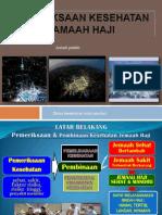 Proses Pemeriksaan Kesehatan Jamaah Haji