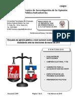 Boletín UTEC Encuesta LXVII 20180207