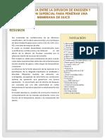 COMPETENCIA ENTRE LA DIFUSION DE KNUDSEN Y LA DIFUSION SUPERCIAL PARA PENETRAR UNA MEMBRANA DE SILICE.docx