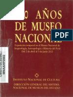 180 Años Del Museo Nacional