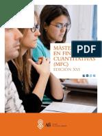 Brochure AFI - Master Quantitative Finance