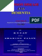 Parkinson-Dementia