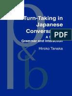 Turn-Taking in Japanese Conversation
