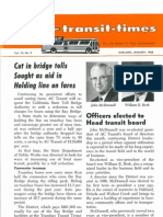Transit Times Volume 10, Number 9, January