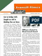 Transit Times Volume 10, Number 9, January