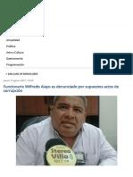 Funcionario Wilfredo Alayo Es Denunciado Por Supuestos Actos de Corrupción _ Stereovilla 101.7 Fm - Comunicación Para La Vida