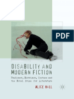 Alice Hall (Auth.)-Disability and Modern Fiction_ Faulkner, Morrison, Coetzee and the Nobel Prize for Literature-Palgrave Macmillan UK (2012)