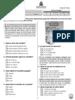 Prueba Diagnóstica 2º Español (2011)
