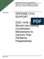 Pandemic Response / Emergent Threat Analysis