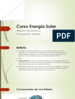 Curso Energía Solar-Baterias