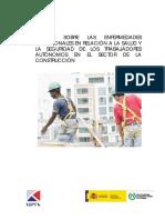 Estudio Sobre Las Enfermedades Laborales Sector Construcción.