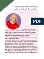 7.Sfaturi date de Louise Hay pentru a deveni cel mai bun sustinator al starii tale de sanatate….docx