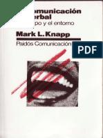 La Comunicación No Verbal - Mark Knapp