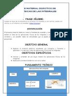 Elaboracion de Material Didactico de Aplicaciones Fisicas de Las Integrales