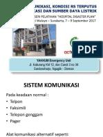 14 Sistem Komunikasi, Kondisi Rumah Sakit Terputus Dari Komunikasi Dan Sumber Daya Listrik