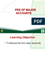 8 types of major accounts