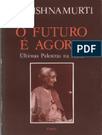 Z.C O Futuro é Agora - J Krishnamurti
