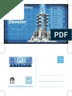 Postcard SpaceElevator