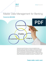 Mdm for Banking 2015
