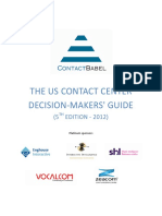 The US Contact Center Decision Makers Guide 2012