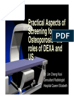 Dr. Lim - Practical Aspect of Screening for Osteoporosis