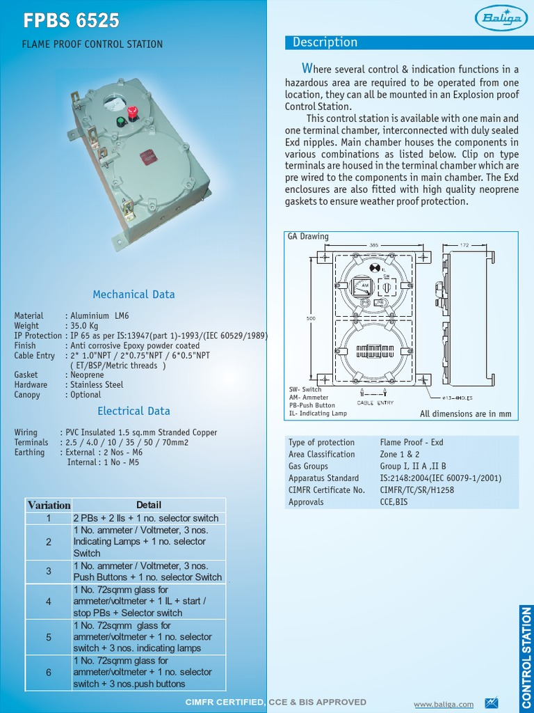 62FPBS 6525   Switch   Electrical Wiring