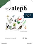 Aleph No. 184. Enero_marzo 2018. Año 52