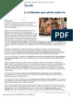 Jean Baudrillard, El Filósofo Que Alertó Sobre La 'Era Matrix' _ Elmundo
