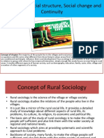 Rural Social Structure-2