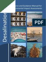 Eia Manual for Desalination