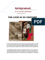 The Love in XX Century