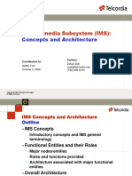 Telecordia IMS Presentation Concepts
