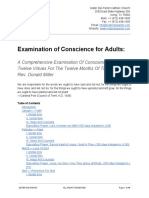 Examination of Conscience for Adults