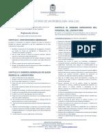 Reglamento Del Laboratorio de Microbiologia, Departamento de Farmacia (210), Facultad de Ciencias