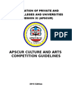 Culture Arts Guidelines 2015 Edition NEW REVISION 1