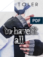 To Have It All Livro Unico B.N. Toler