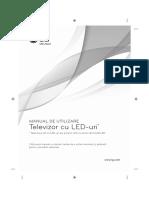 Manual Televizor Smart LED Lg 32LB570B