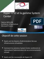 Hyper-V V2 Et La Gamme System Center