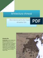 Arta Şi Arhitectura Chineză