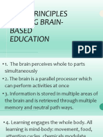 core principles guiding brain-based education