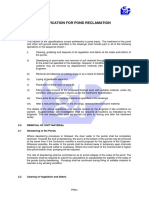 PRS_Specification for Pond Reclamation