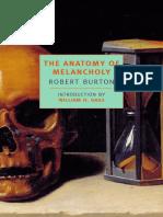 Anatomy Melancoly Introduction