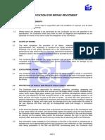 SP019_Specification for Riprap Revetment