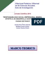RESPONSABILIDAD SOCIAL EMPRESARIAL MINERA