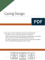 Casing Design beginer